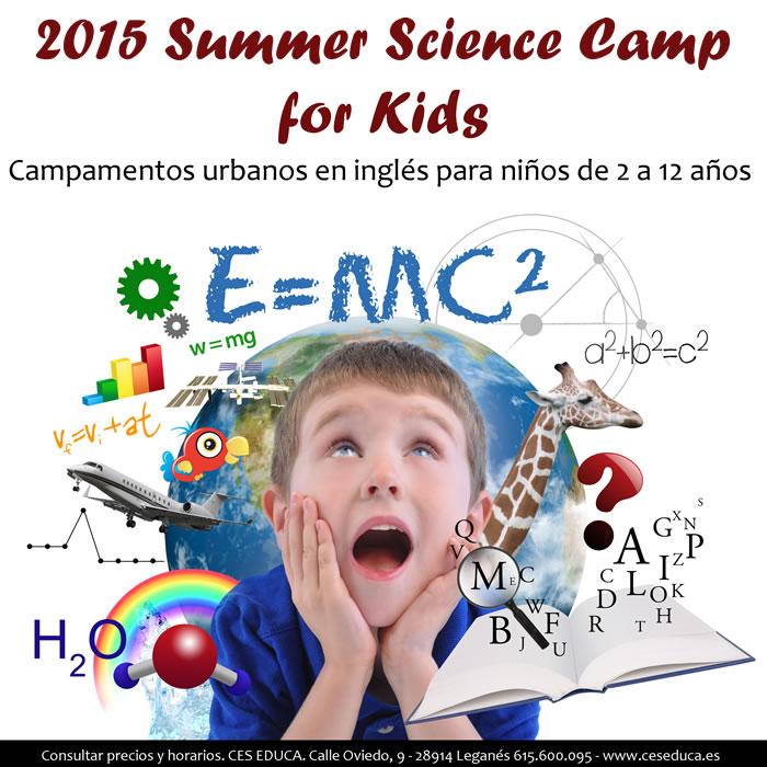 campamento de verano 2015 - 2015 Summer Science Camp por Kids