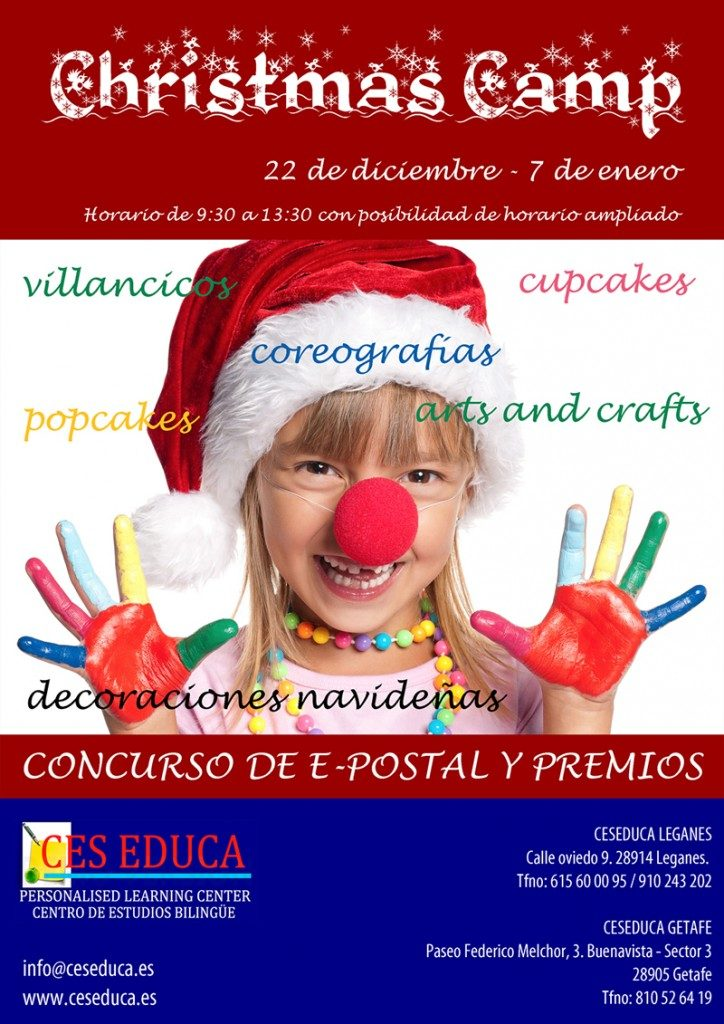 christmascamp20151 724x1024 724x1024 - 22 diciembre – Christmas Camp