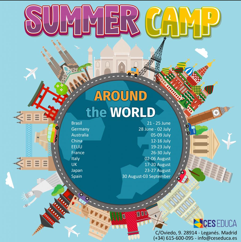 summer camp 2021 1 1021x1024 - SUMMER CAMP 2021 - AROUND THE WORLD