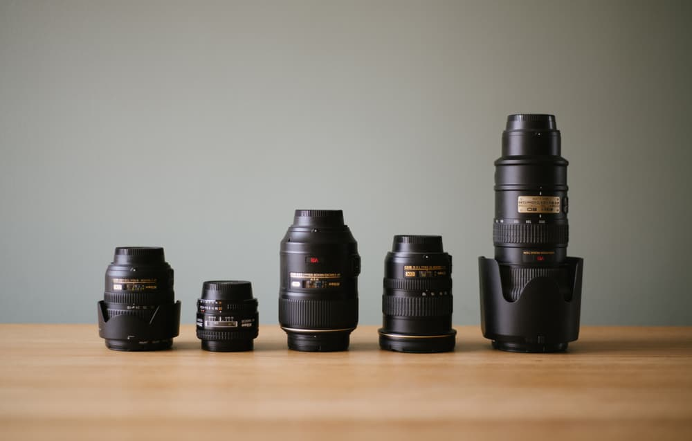objetivos fotográficos - Curso de fotografía