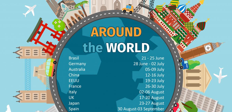SUMMER CAMP 2021 – AROUND THE WORLD